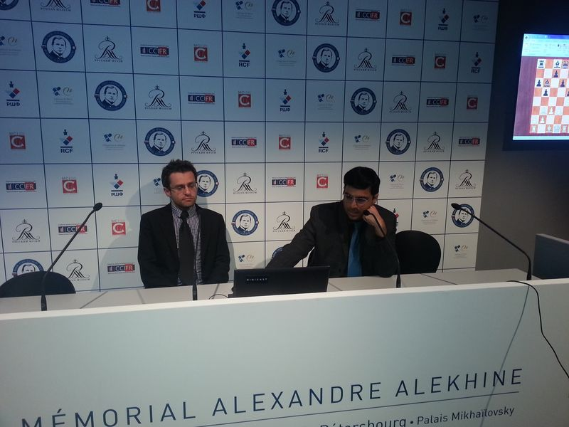 Aronian et Anand